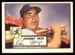1952 Topps Reprints #129  Johnny Mize  Front Thumbnail