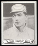 1940 Play Ball Reprints #177  Home Run Baker  Front Thumbnail
