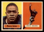 1957 Topps #19  Perry Jeter  Front Thumbnail