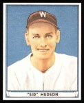 1941 Play Ball Reprints #46  Sid Hudson  Front Thumbnail