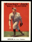1915 Cracker Jack Reprints #46  Bob Groom  Front Thumbnail