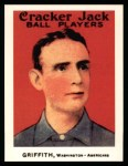 1915 Cracker Jack Reprints #167  Clark Griffith  Front Thumbnail