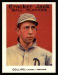 1915 Cracker Jack Reprints #7  Eddie Collins  Front Thumbnail