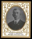 1909 T204 Ramly Reprints #7  Frank Bancroft  Front Thumbnail