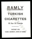 1909 T204 Ramly Reprints #88  Simon Nichols  Back Thumbnail