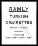 1909 T204 Ramly Reprints #85  Danny Murphy  Back Thumbnail