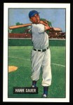 1951 Bowman Reprints #22  Hank Sauer  Front Thumbnail