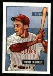 1951 Bowman Reprints #28  Eddie Waitkus  Front Thumbnail