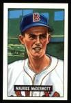 1951 Bowman Reprints #16  Mickey McDermott  Front Thumbnail