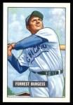 1951 Bowman Reprints #317  Smoky Burgess  Front Thumbnail
