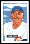 1951 Bowman Reprints #282  Frankie Frisch   Front Thumbnail