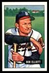 1951 Bowman Reprints #66  Bob Elliott  Front Thumbnail