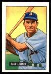 1951 Bowman Reprints #8  Paul Lehner  Front Thumbnail