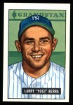 1951 Bowman Reprints #2  Yogi Berra  Front Thumbnail