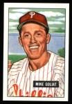 1951 Bowman Reprints #77  Mike Goliat  Front Thumbnail