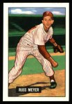 1951 Bowman Reprints #75  Russ Meyer  Front Thumbnail