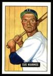 1951 Bowman Reprints #124  Gus Niarhos  Front Thumbnail