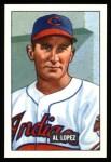 1951 Bowman Reprints #295  Al Lopez  Front Thumbnail