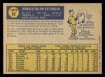 1970 O-Pee-Chee #80  Don Kessinger  Back Thumbnail