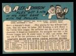 1965 Topps #352  Alex Johnson  Back Thumbnail