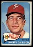 1965 Topps #310  Johnny Callison  Front Thumbnail