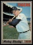 1970 O-Pee-Chee #383  Mickey Stanley  Front Thumbnail