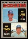 1970 O-Pee-Chee #131   -  Ray Lamb / Bob Stinson Dodgers Rookies Front Thumbnail