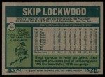 1977 #65  Skip Lockwood  Back Thumbnail