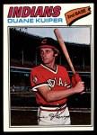 1977 Topps #85  Duane Kuiper  Front Thumbnail