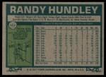 1977 Topps #502  Randy Hundley  Back Thumbnail