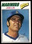 1977 Topps #269  Joe Lis  Front Thumbnail