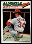 1977 Topps #19  John D'Acquisto  Front Thumbnail
