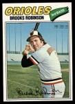 1977 Topps #285  Brooks Robinson  Front Thumbnail
