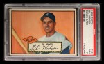 1952 Topps #36 BLK Gil Hodges  Front Thumbnail