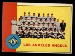 1963 Topps #39 *YEL*  Angels Team Front Thumbnail
