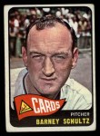 1965 Topps #28  Barney Schultz  Front Thumbnail