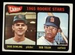 1965 Topps #116   -  Dave Dowling / Bobby Tolan Cardinals Rookies Front Thumbnail