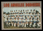 1970 O-Pee-Chee #411   Dodgers Team Front Thumbnail
