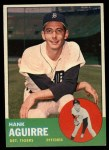 1963 Topps #257  Hank Aguirre  Front Thumbnail
