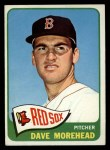 1965 Topps #434  Dave Morehead  Front Thumbnail