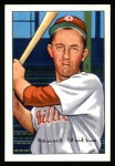 1952 Bowman Reprints #92  Eddie Waitkus  Front Thumbnail