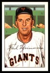 1952 Bowman Reprints #234  Fred Fitzsimmons  Front Thumbnail