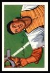 1952 Bowman Reprints #107  Del Rice  Front Thumbnail