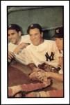 1953 Bowman Reprints #44  Mickey Mantle / Yogi Berra / Hank Bauer  Front Thumbnail