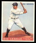 1933 Goudey Reprints #160  Lou Gehrig  Front Thumbnail