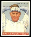 1933 Goudey Reprints #73  Jesse Haines  Front Thumbnail