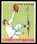 1933 Goudey Reprints #143  Glenn Wright  Front Thumbnail