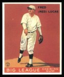 1933 Goudey Reprints #137  Red Lucas  Front Thumbnail