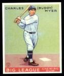 1933 Goudey Reprints #153  Buddy Myer  Front Thumbnail