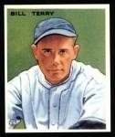 1933 Goudey Reprints #125  Bill Terry  Front Thumbnail